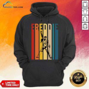 Freddie Mercury Vintage Hoodie - Design By Weathertees.com