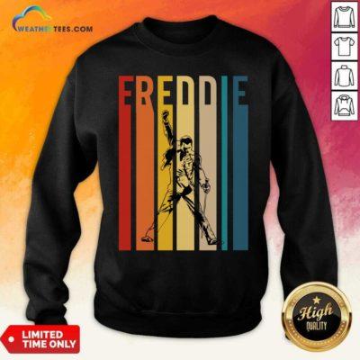 Freddie Mercury Vintage Sweatshirt - Design By Weathertees.com