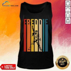 Freddie Mercury Vintage Tank Top - Design By Weathertees.com