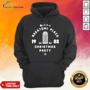 Nakatomi Plaza 1988 Christmas Party Hoodie - Design By Weathertees.com