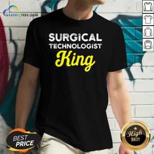 Surgical Technologist King Life Scrub Tech V-neck - Design By Weathertees.com