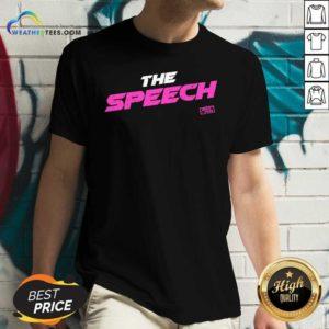 Jersey Shore The Speech V-neck - Design By Weathertees.com