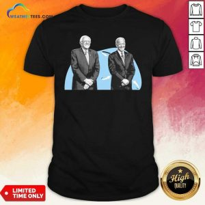 Joe Biden And Bernie Sanders Shirt - Design By Weathertees.com