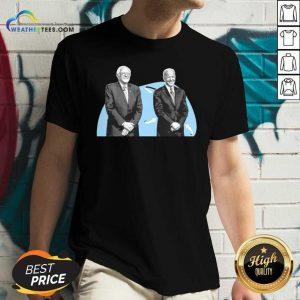 Joe Biden And Bernie Sanders V-neck - Design By Weathertees.com