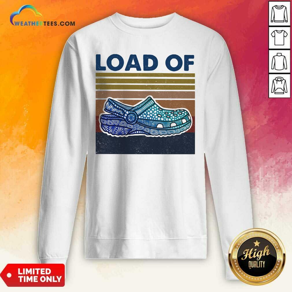 Load Of Cross Vintage Retro Sweatshirt - Design By Weathertees.com