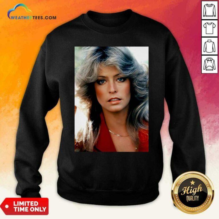 Orlando Brown Farrah Fawcett Sweatshirt - Design By Weathertees.com