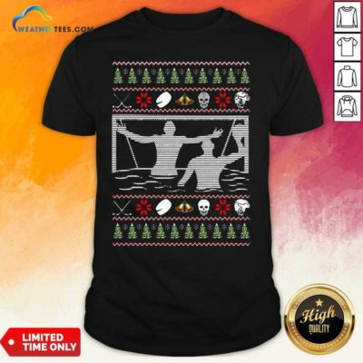 Water Polo Ugly Christmas Shirt - Design By Weathertees.com