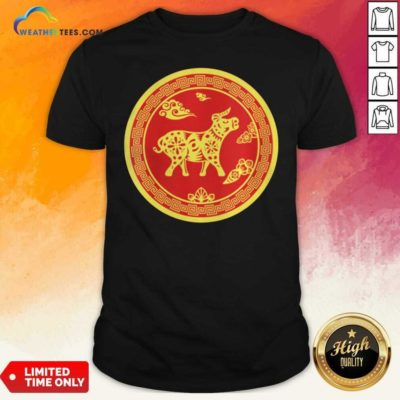 Year Of The Ox 2021 Happy New Year Shirt - Design By Weathertees.com