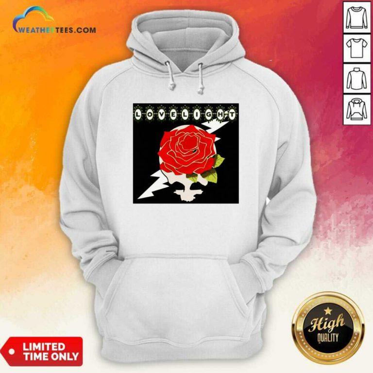 Lovelight Rose Hoodie - Design By Weathertees.com