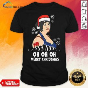 Santa Nessa Jenkins Oh Oh Oh Merry Christmas Shirt - Design By Weathertees.com