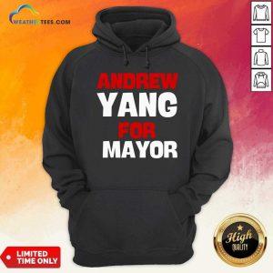 Andrew Yang For Mayor Essential Hoodie - Design By Weathertees.com