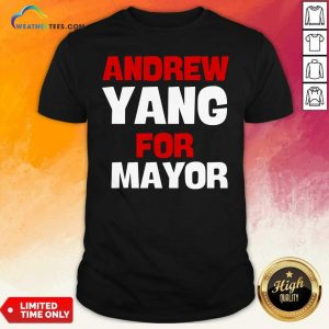 Andrew Yang For Mayor Essential Shirt - Design By Weathertees.com