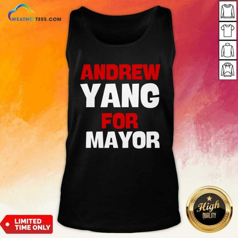 Andrew Yang For Mayor Essential Tank Top - Design By Weathertees.com