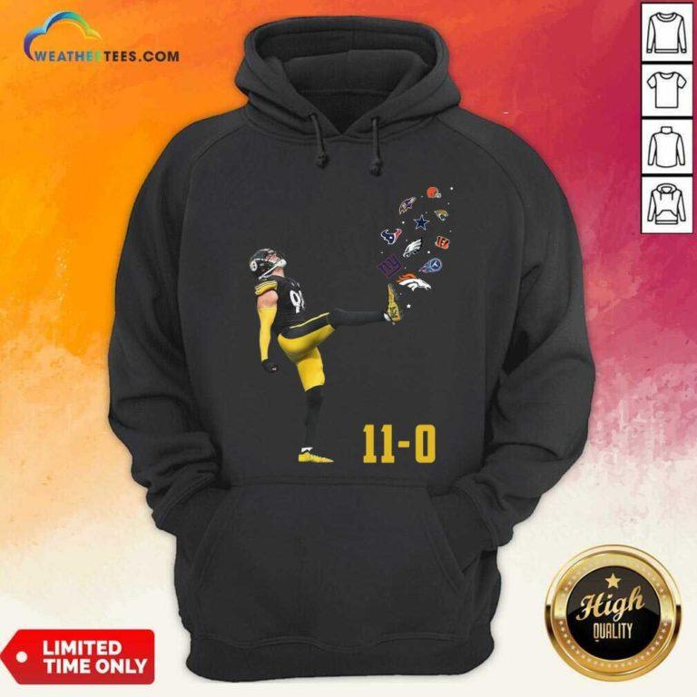 Pittsburgh Steelers Vince Williams 11 0 New York Giants Dallas Cows Boys Hoodie - Design By Weathertees.com