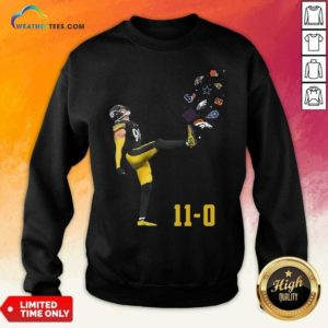 Pittsburgh Steelers Vince Williams 11 0 New York Giants Dallas Cows Boys Sweatshirt - Design By Weathertees.com