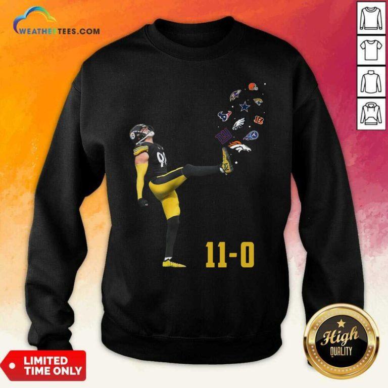 Pittsburgh Steelers Vince Williams 11 0 New York Giants Dallas Cows Boys Sweatshirt - Design By Weathertees.com