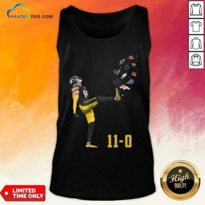 Pittsburgh Steelers Vince Williams 11 0 New York Giants Dallas Cows Boys Tank Top - Design By Weathertees.com