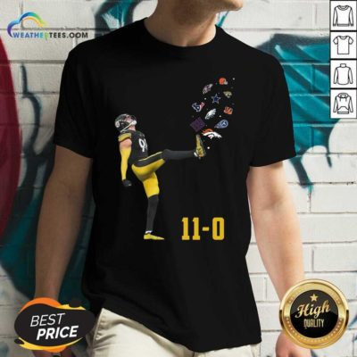 Pittsburgh Steelers Vince Williams 11 0 New York Giants Dallas Cows Boys V-neck - Design By Weathertees.com