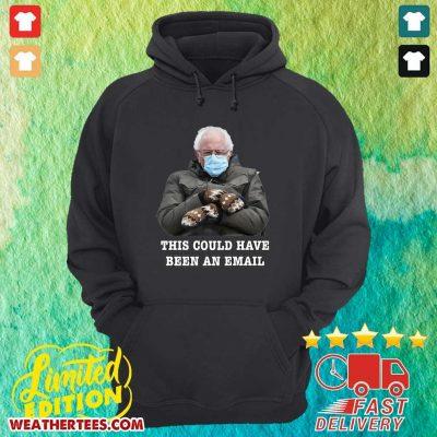 Bernie Mittens Funny Bernie Sanders Meme Inauguration Day Hoodie - Design By Weathertees.com