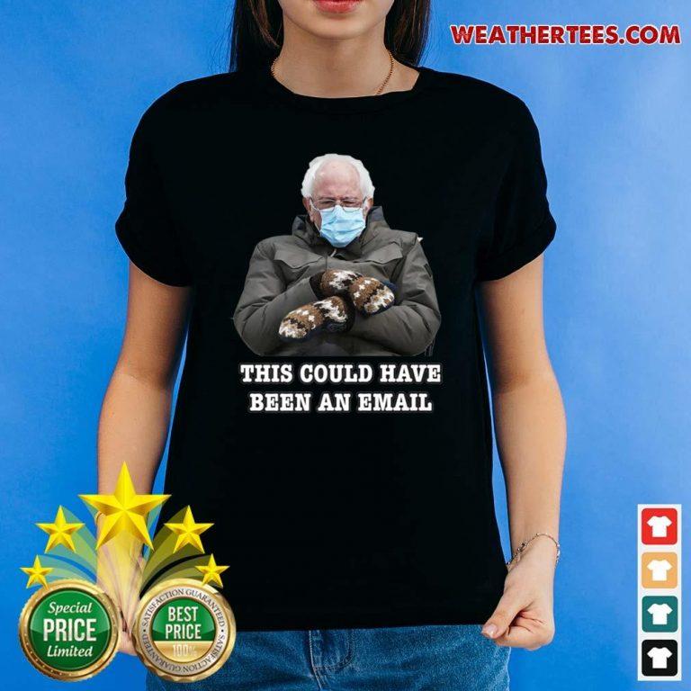 Bernie Mittens Funny Bernie Sanders Meme Inauguration Day Ladies-tee - Design By Weathertees.com