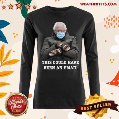 Bernie Mittens Funny Bernie Sanders Meme Inauguration Day Long-sleeved - Design By Weathertees.com