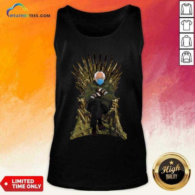 Bernie Sanders Game Of Throne Tank Top - Design By Weathertees.com