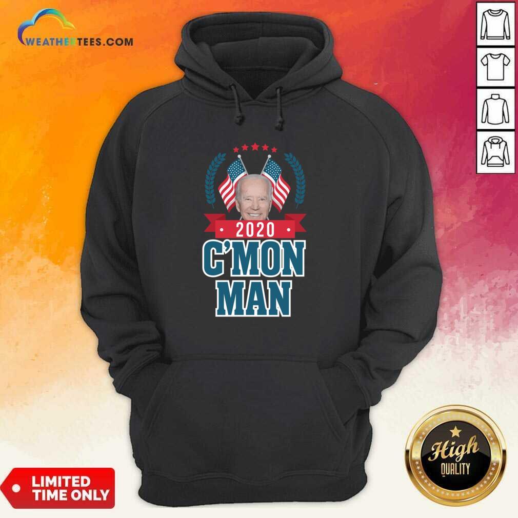 Cmon Man Come On Joe Biden American Flag Hoodie - Design By Weathertees.com