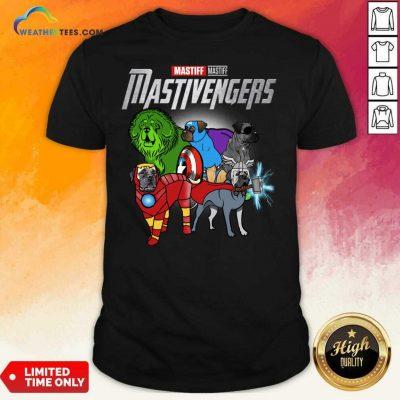 Mastiff Marvel Avengers Mastivengers Shirt - Design By Weathertees.com