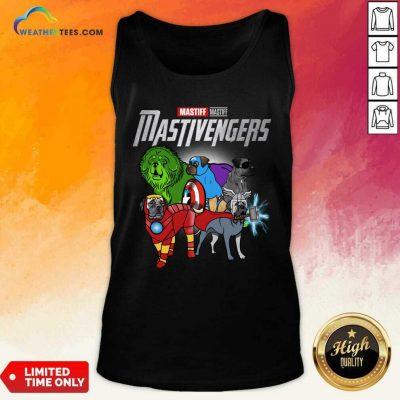Mastiff Marvel Avengers Mastivengers Tank Top - Design By Weathertees.com