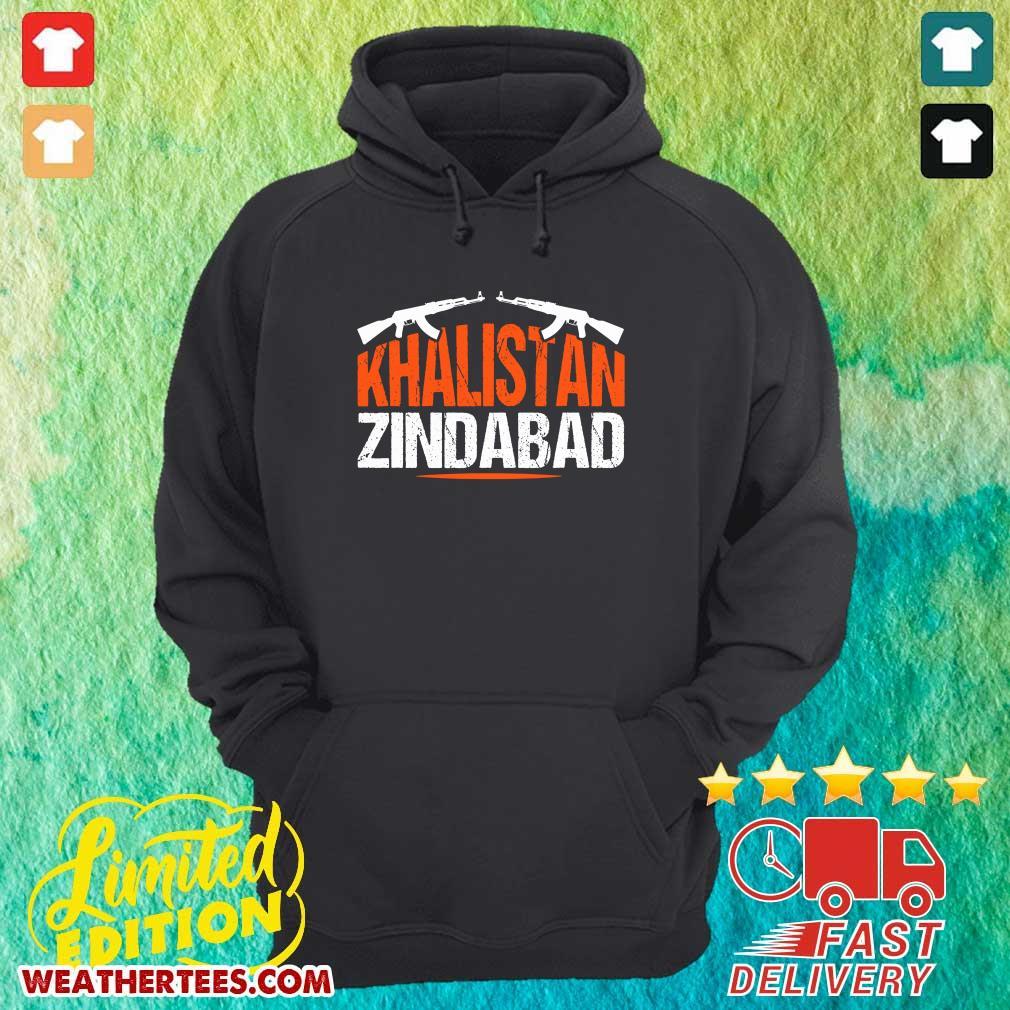 Sikh Khalistan Zindabad Singh Punjabi Hoodie - Design By Weathertees.com