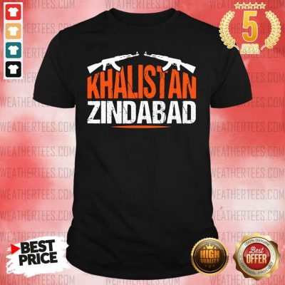 Sikh Khalistan Zindabad Singh Punjabi Shirt - Design By Weathertees.com