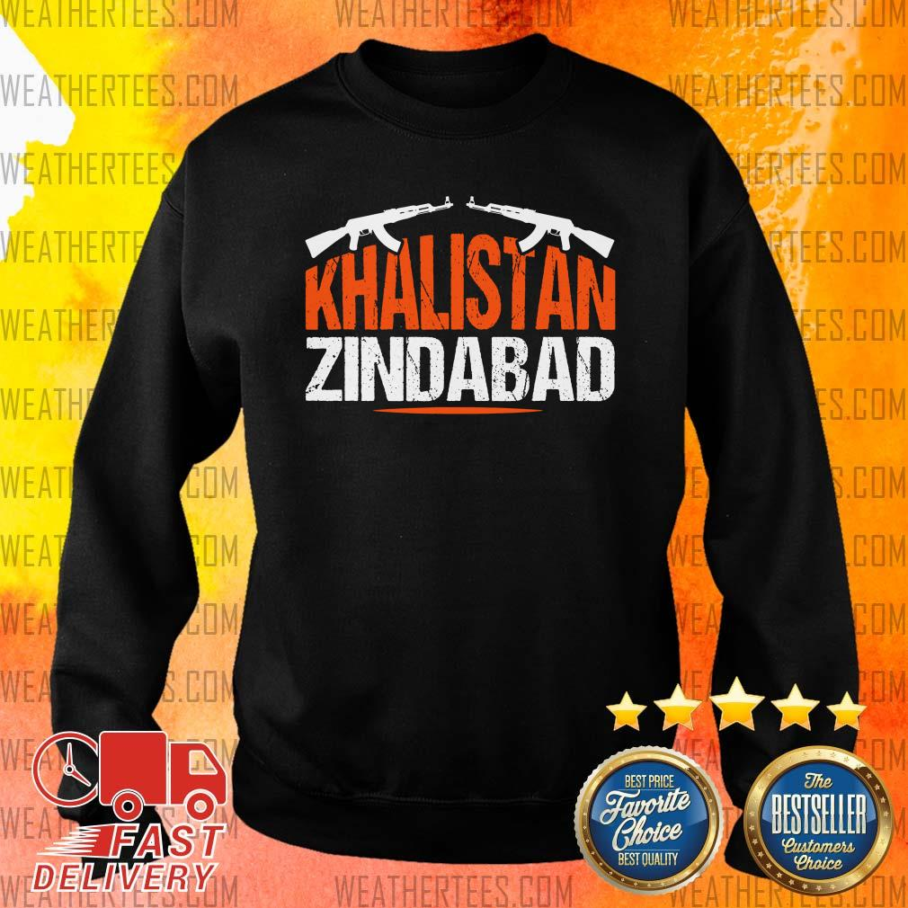 Sikh Khalistan Zindabad Singh Punjabi Sweater - Design By Weathertees.com