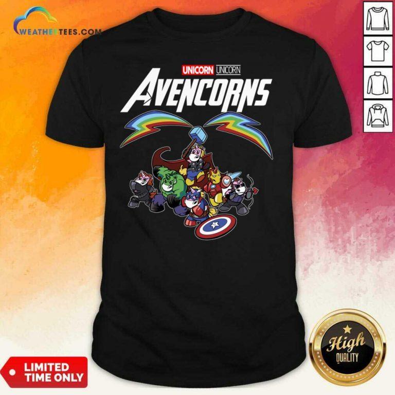 Unicorn Marvel Avengers Avencorns Shirt - Design By Weathertees.com