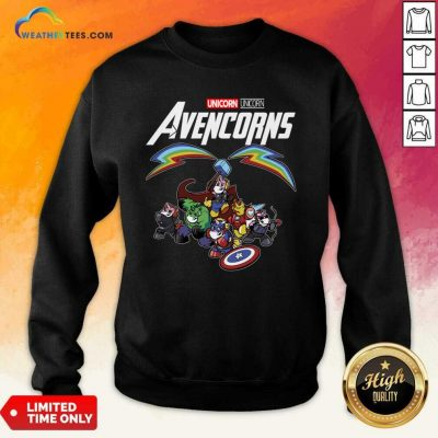 Unicorn Marvel Avengers Avencorns Sweatshirt - Design By Weathertees.com