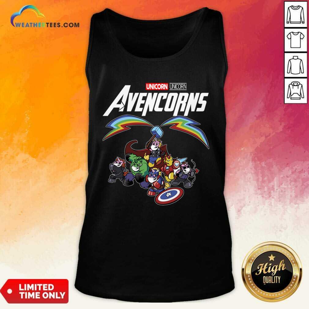 Unicorn Marvel Avengers Avencorns Tank Top - Design By Weathertees.com