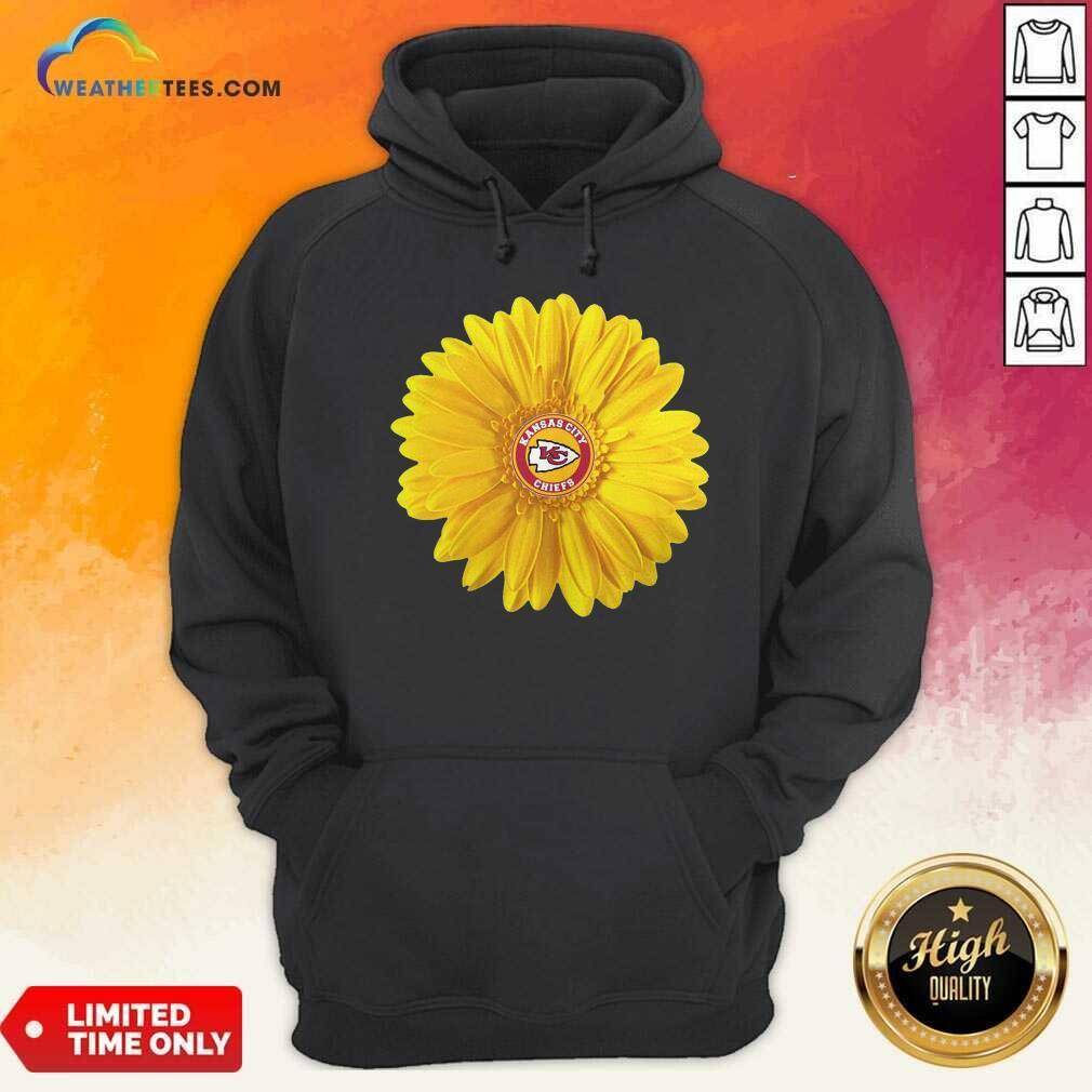 Kansas City Chiefs Sunflower Hoodie - Design By Weathertees.com