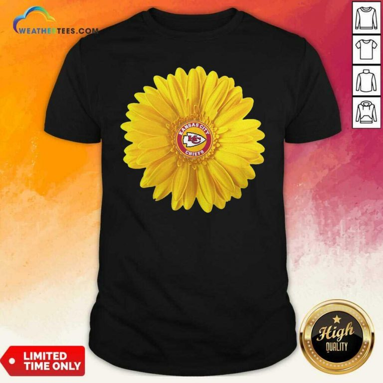 Kansas City Chiefs Sunflower Shirt - Design By Weathertees.com