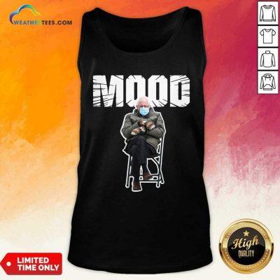 Bernie Sanders Gloves Mittens Bad Mood 2021 Tank Top - Design By Weathertees.com