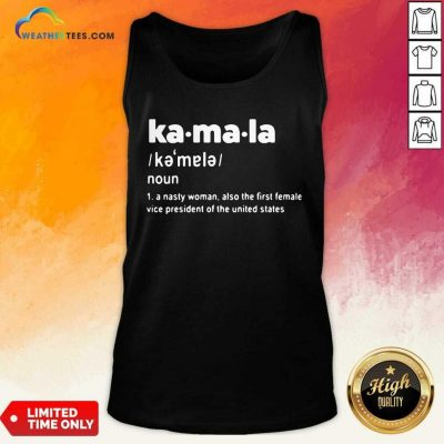 Kamala Harris First Female Vice President Of The United States Tank Top - Design By Weathertees.com