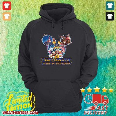 Mickey Mouse Walt Disney World The World's Most Magical Celebration Hoodie - Design By Weathertees.com