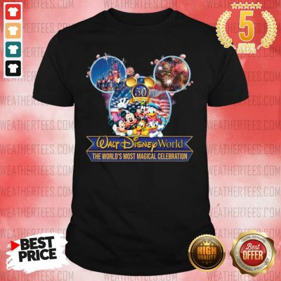 Mickey Mouse Walt Disney World The World's Most Magical Celebration Shirt - Design By Weathertees.com
