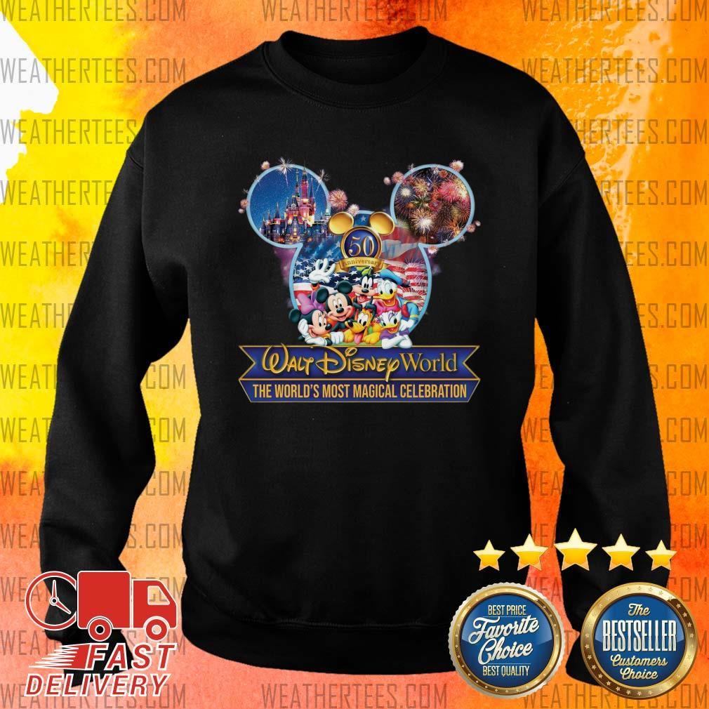 Mickey Mouse Walt Disney World The World's Most Magical Celebration Sweater - Design By Weathertees.com