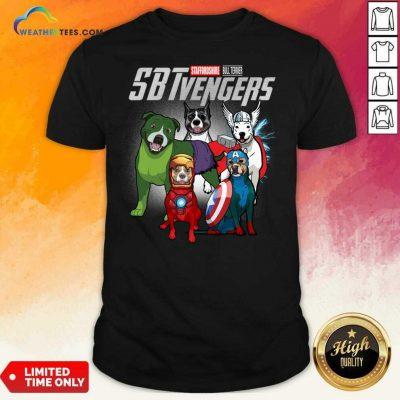Staffordshire Bull Terrier Marvel Avengers Sbtvengers Shirt - Design By Weathertees.com