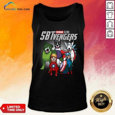 Staffordshire Bull Terrier Marvel Avengers Sbtvengers Tank Top - Design By Weathertees.com