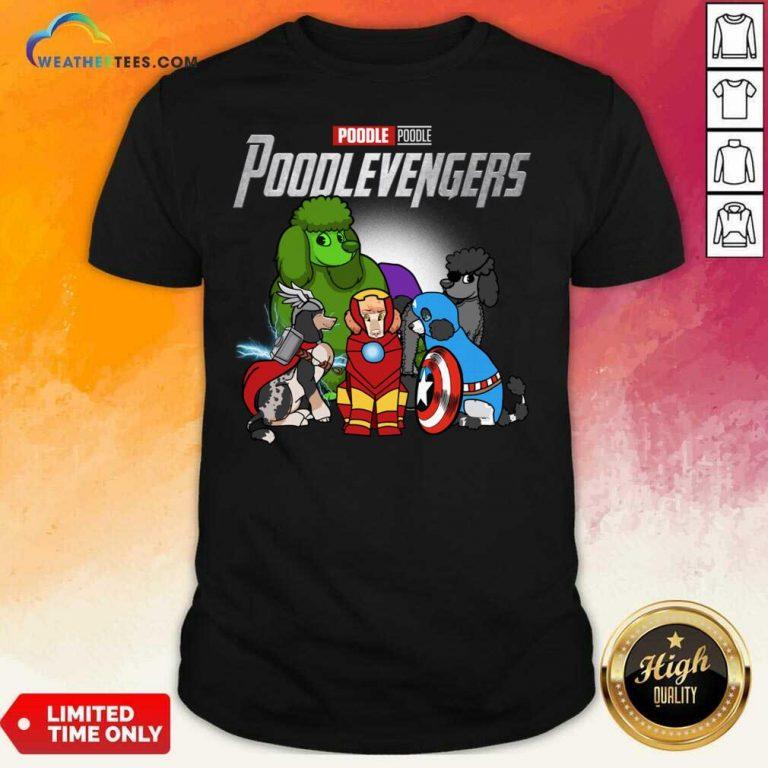 Poodle Marvel Avengers Poodlevengers Shirt - Design By Weathertees.com