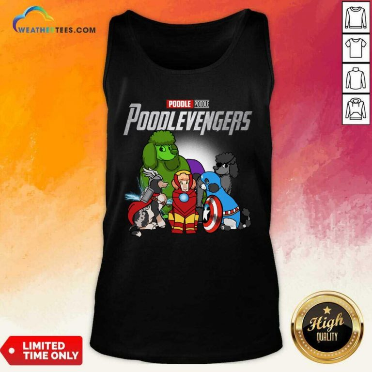 Poodle Marvel Avengers Poodlevengers Tank Top - Design By Weathertees.com