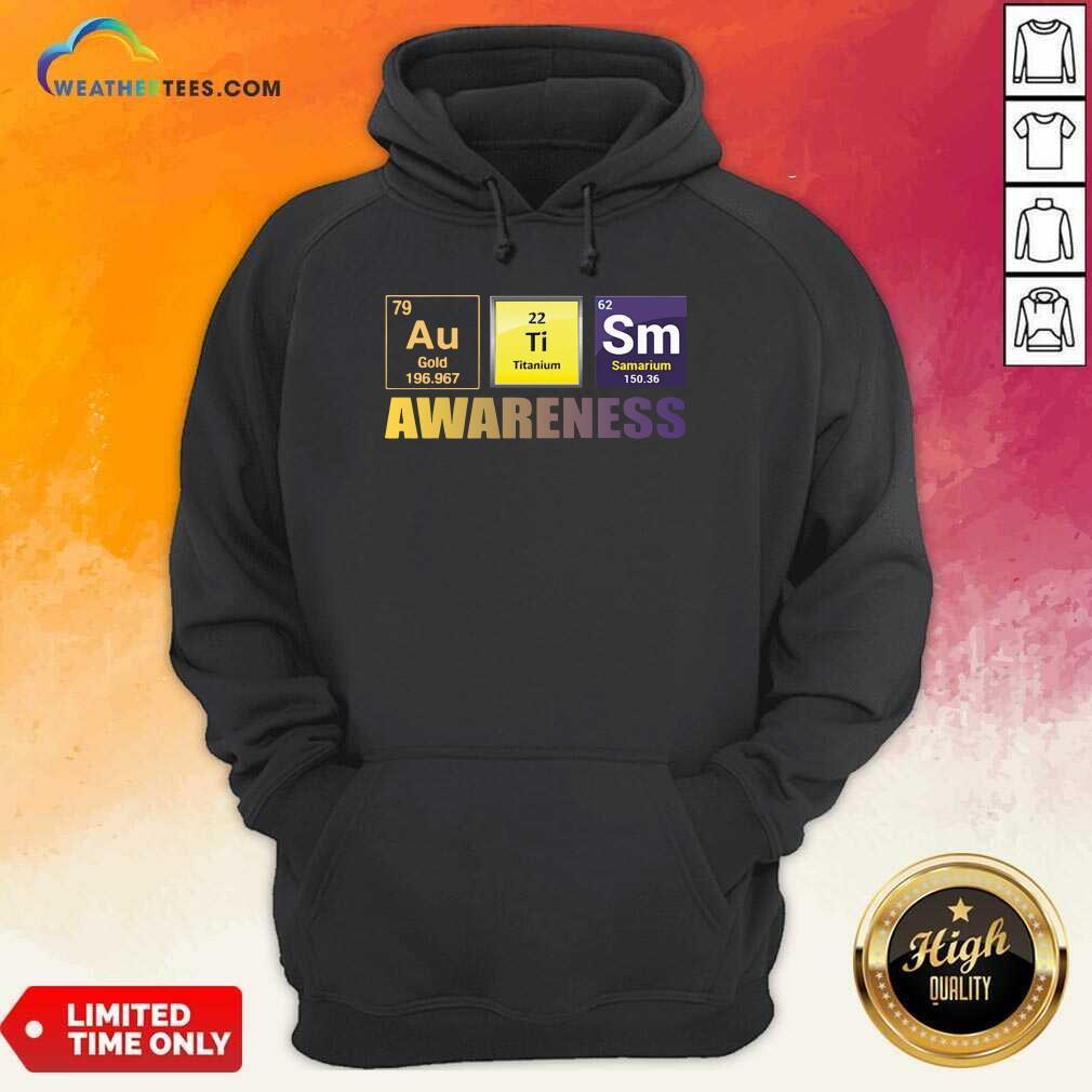 Autism Awareness Elements Gift Hoodie - Design By Weathertees.com