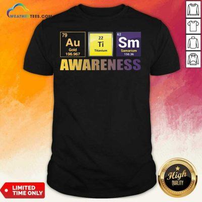 Autism Awareness Elements Gift Shirt - Design By Weathertees.com
