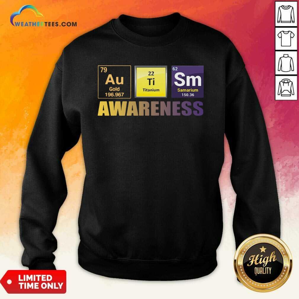 Autism Awareness Elements Gift Sweatshirt - Design By Weathertees.com