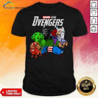 Avengers Dachshund Dvengers Shirt - Design By Weathertees.com
